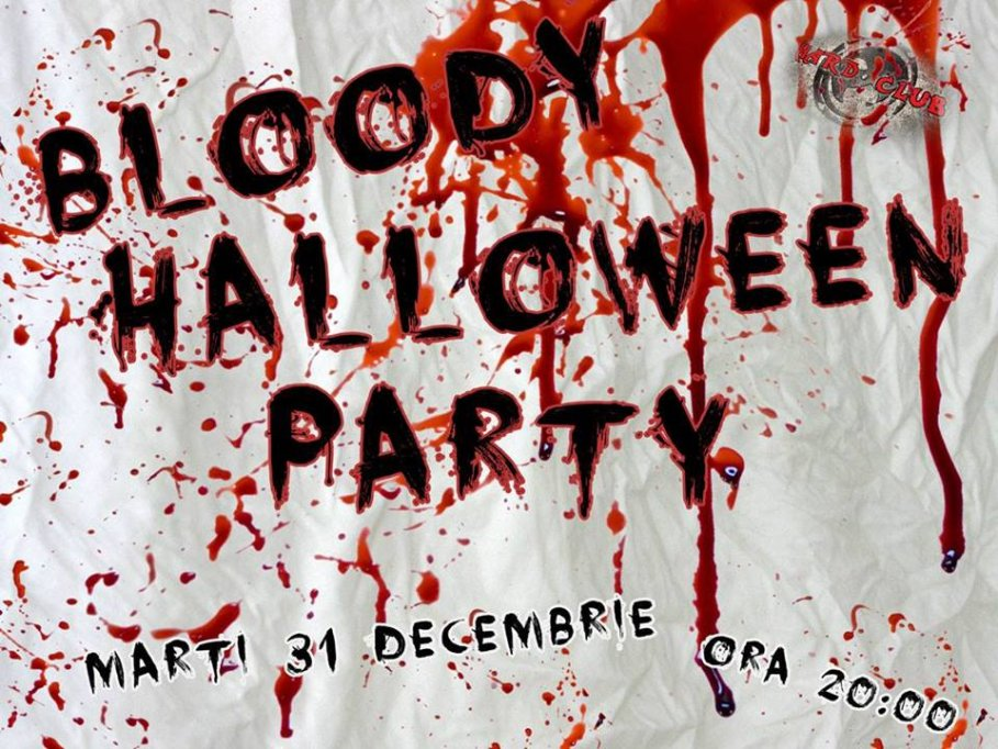 Bloody Halloween Party
