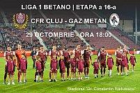 CFR 1907 Cluj - Gaz Metan Medias