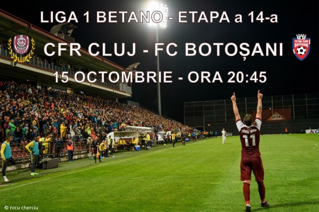 CFR Cluj 1907 - FC Botosani
