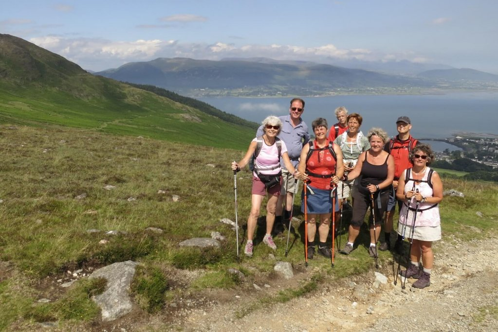 Trekking Tours Ireland oferit de Walking Holiday Ireland