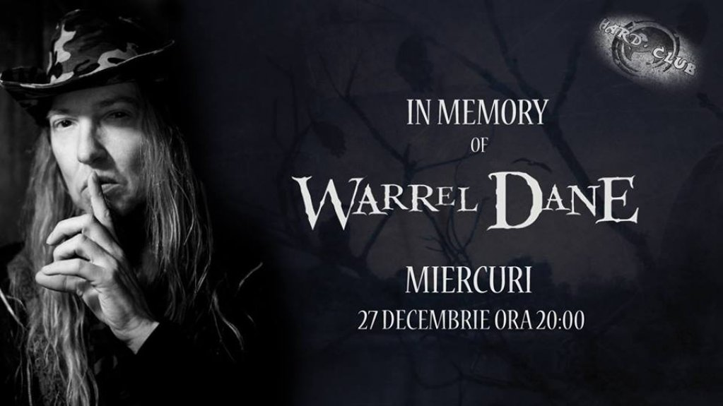 In Memory of Warrel Dane