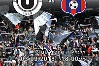 FC Universitatea Cluj - Luceafarul Oradea