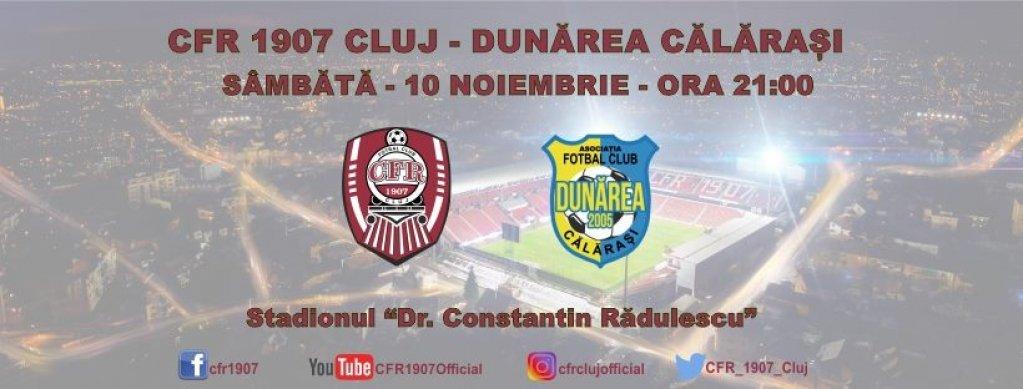 CFR Cluj - Dunarea Calarasi