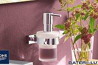 Foloseste un dozator pentru sapun lichid – obiectul sanitar elegant, igienic si comod pentru orice baie.