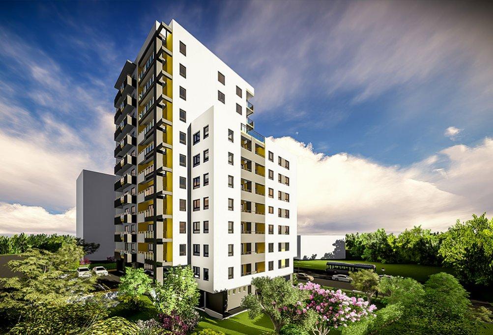 Un apartament în ansamblul rezidențial Fusion Towers din Iași îți asigură un cămin frumos, linștit, sigur și modern