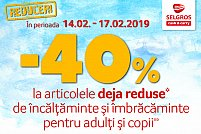 Reduceri la imbracaminte si incaltaminte de la Selgros Cluj