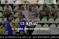 Universitatea Cluj - CS Gloria 2018 Bistrita