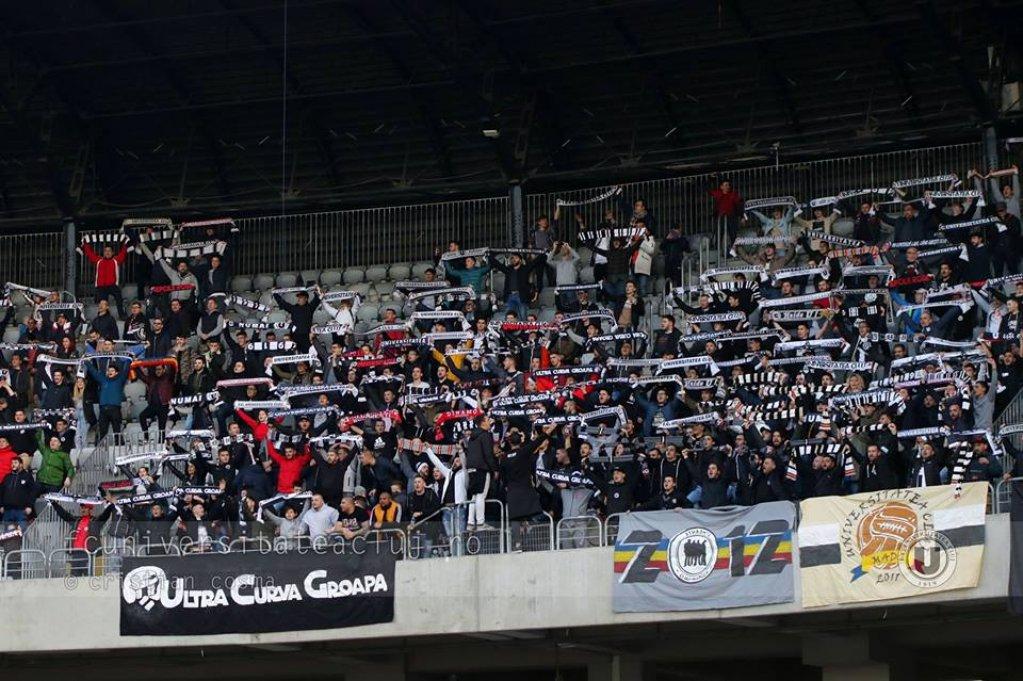 FC Universitatea Cluj - FC Arges