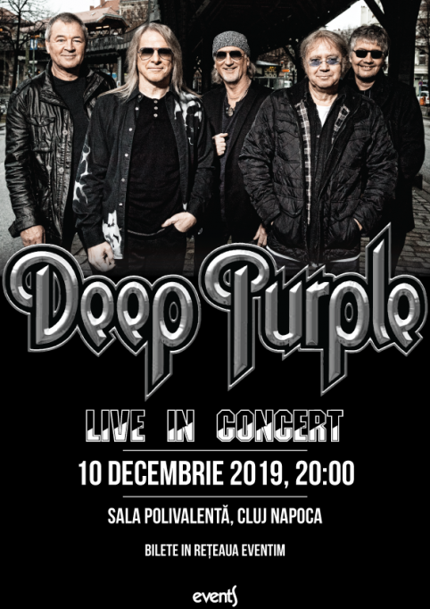 Concert Deep Purple la Cluj