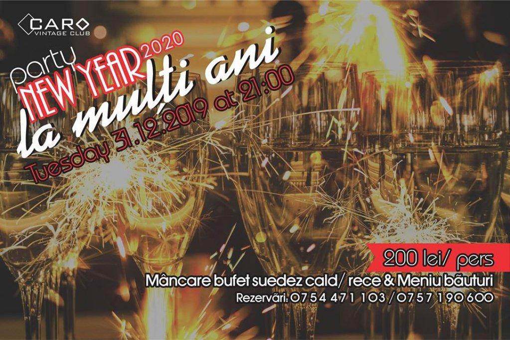 Revelion 2020 la Caro Vintage Club Cluj Napoca