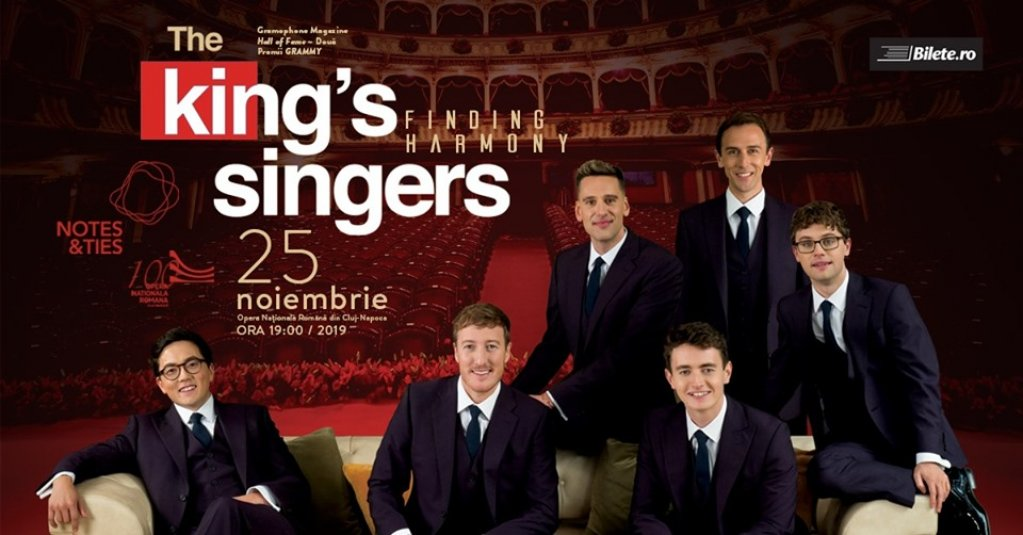 The King's Singers - Finding Harmony