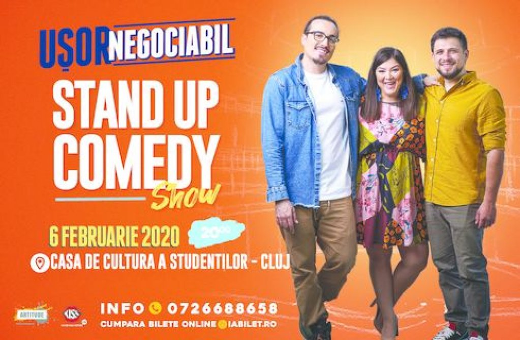 Stand up comedy in Cluj