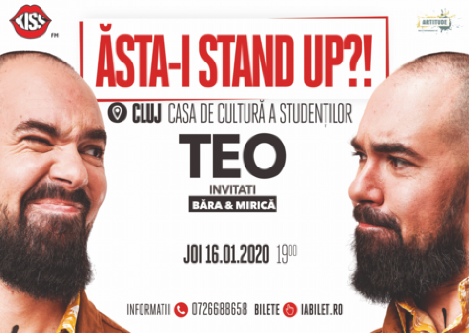 Stand-up Comedy la Casa de Cultura a Studentilor