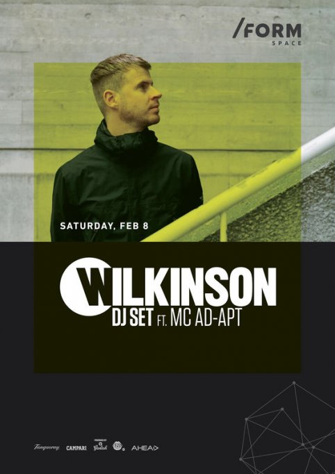 Wilkinson DJ SET ft. MC Ad-Apt
