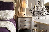 Design interior de apartament amenajat cu mobila clasica