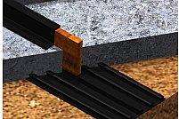 Banda de etansare pentru impermeabilizarea elementelor din beton