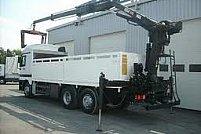 Transport camion cu hiab