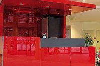 Sticla colorata emailata solutia optima pentru interioare moderne si pline de personalitate proprie