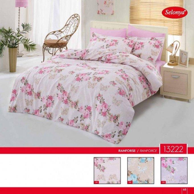 Material lenjerie de pat cu diverse imprimeuri!