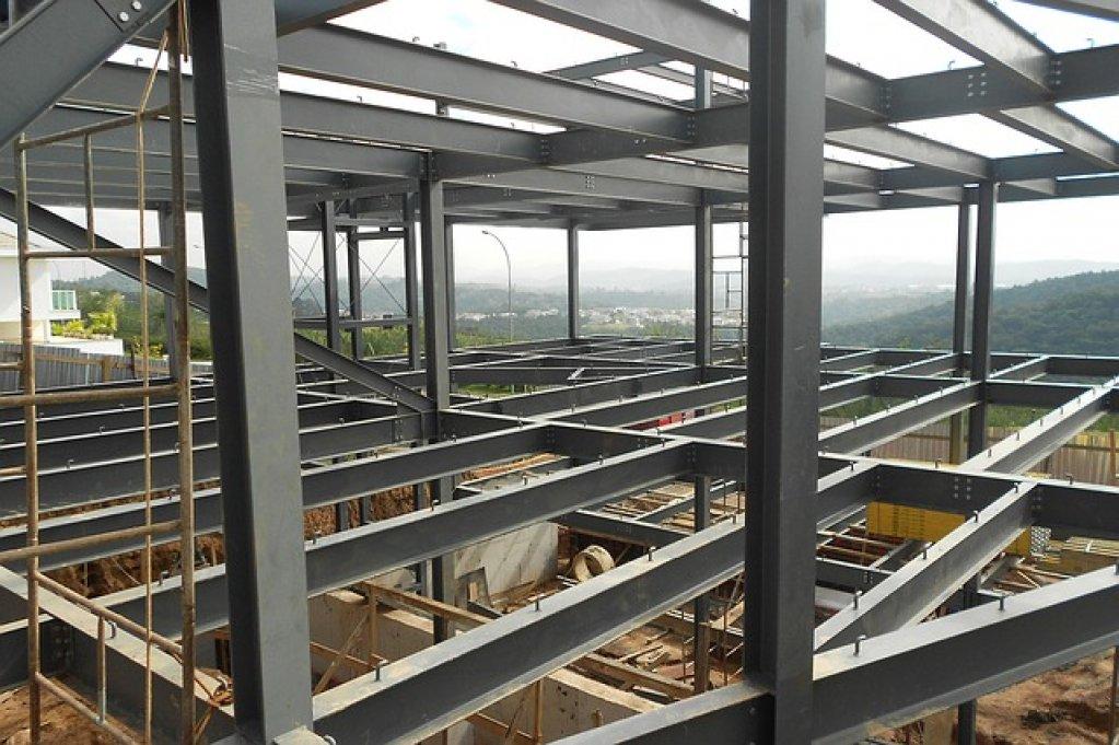 Otelul este unul dintre cele mai performante materiale utilizate in constructii