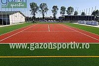 Amenajări terenuri de sport cu gazon artificial