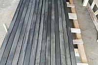 Stalpi gard cu un brat din teava 60 x 40 x 2 mm